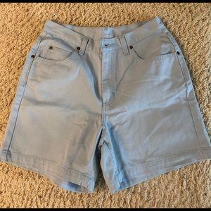 Brand new Liz Claiborne light blue shorts